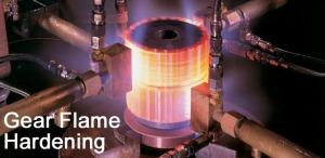 Gear Flame Hardening