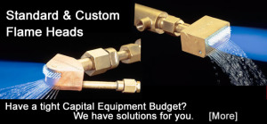Flame Treating Systems - Custom Flame Head Solutions