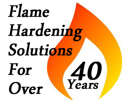flame hardening Solutions for 40 years - 2015