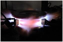 Crane Wheel Spin Hardening Machine