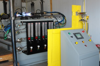Spinning Machine Steel Hardening